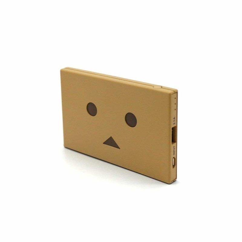 cheero 超薄卡片可爱卡通充电宝通用4200毫安移动电源纸箱人阿楞